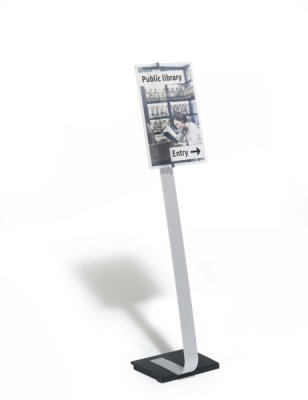CRYSTAL SIGN STAND A3