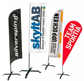köpa beachflaggor