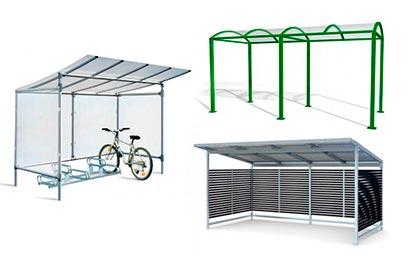 cykelgarage utomhus