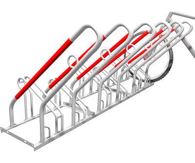 Cykelställ med lås