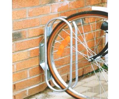Cykelställ för vägg