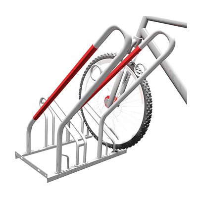Låsbara cykelställ