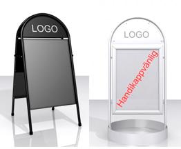 gatupratare med logo