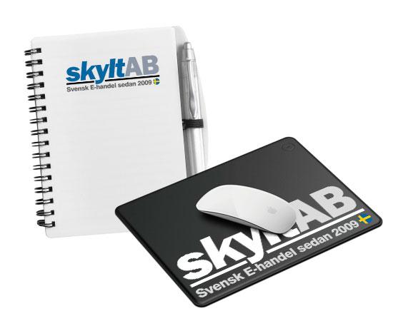 Reklamprodukter för kontor och skrivbord