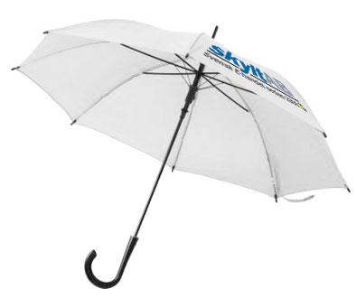 Paraply och ponchos med tryck